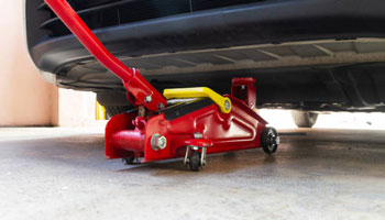 How To Repair A Floor Jack That Won't Hold Pressure