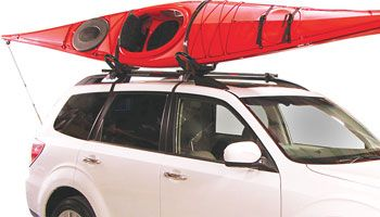 How To Load A Kayak On A J-style Rack By Yourself